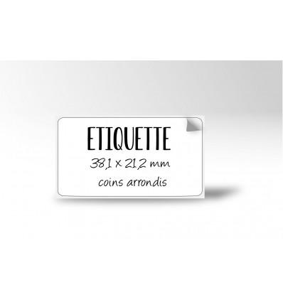 Etiquette multi-usage 38,1x21,2