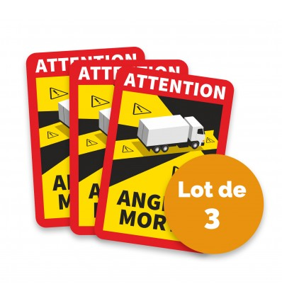 STICKERS CAMION ANGLES MORTS