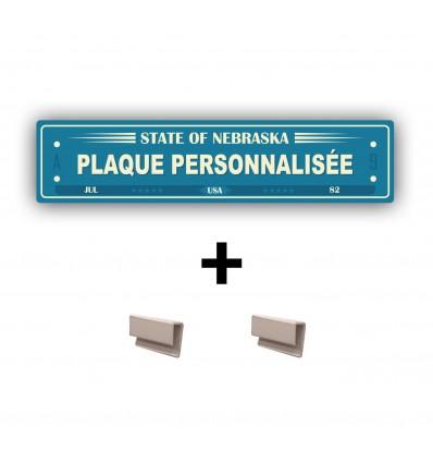 CACHE PLAQUE PERSONNALISÉ